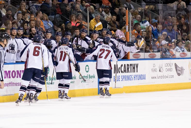 Oilers Hand Mavericks First Home Loss, A 6-3 Victory
