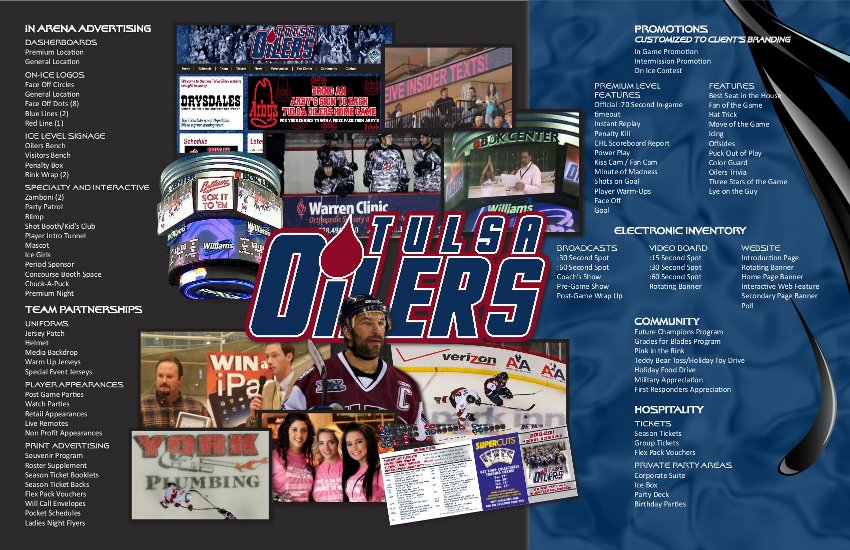 Corporate Sponsorship Opportunities - Page 5 | Tulsa Oilers