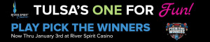 River Spirit Casino | Pick the Winner Promotion