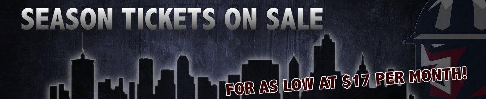Season Tickets   Tulsa Oilers