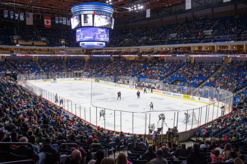 Tulsa Oilers vs Quad City Mallards at BOK Center in Tulsa, Oklahoma