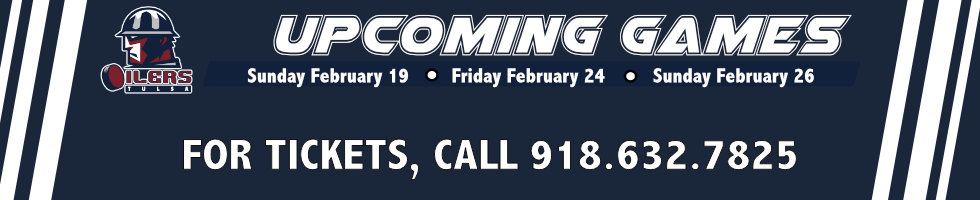 Upcoming Games| Tulsa Oilers