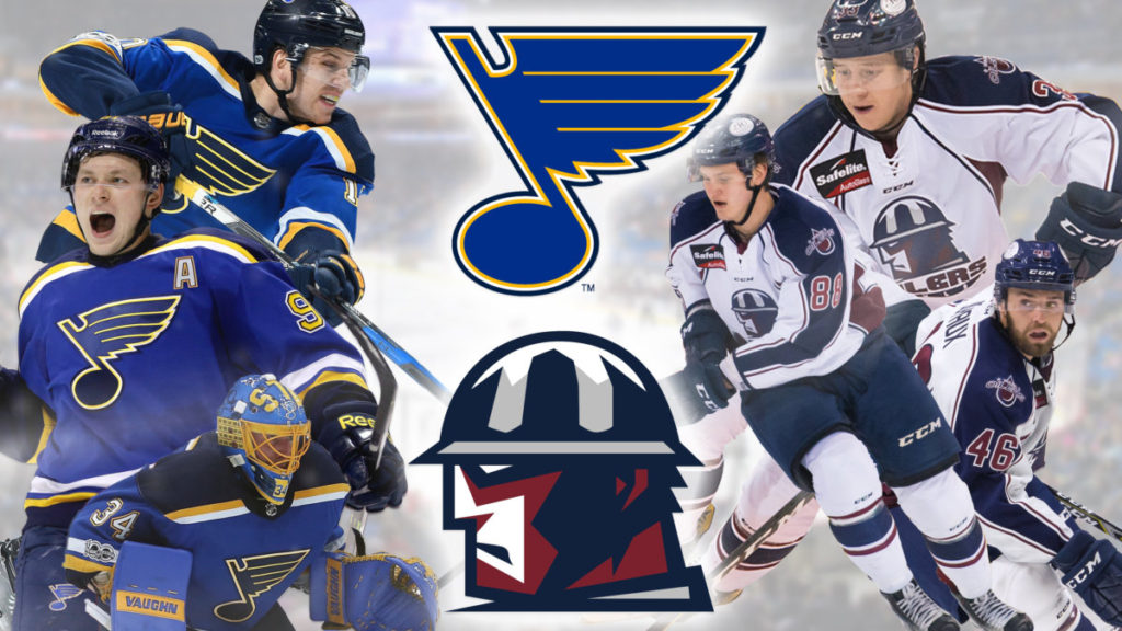 TULSA OK The ECHLs Tulsa Oilers And National Hockey Leagues St Louis Blues Have Extended Their Affiliation Agreement Through 2018 19 Season
