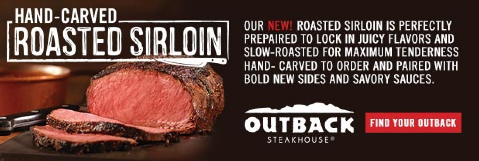 Outback Steakhouse | Roasted Sirloin